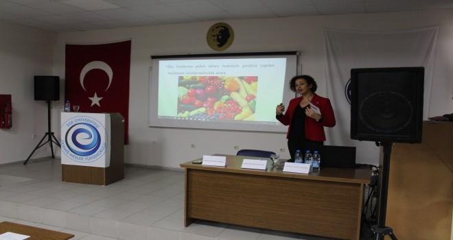 Ege'de ''Organik Tarım ve Sürdürülebilir Tarım'' paneli