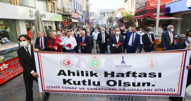 İzmir Esnaf ve Sanatkarlar Odaları Birliği'nden Başkan Sandal'a ziyaret
