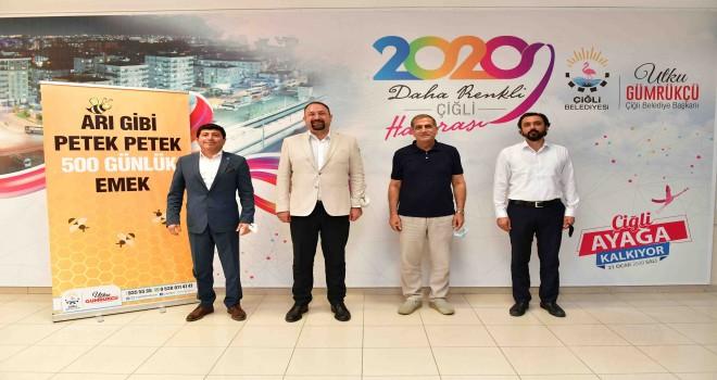 İYİ Parti'li Kırkpınar'dan Başkan Gümrükçü'ye övgü dolu sözler
