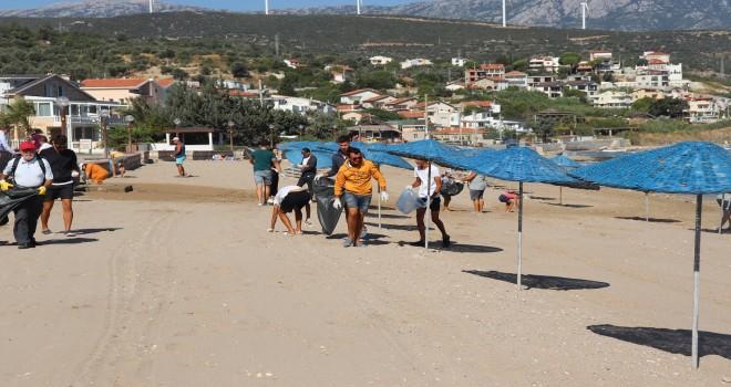 Mordoğan'da plajları koruma seferberliği