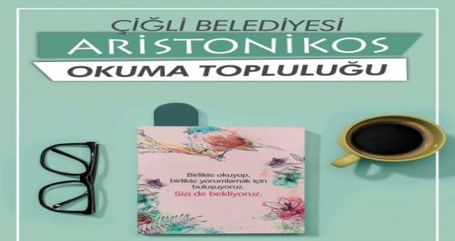 Çiğlili kitapseverler ''Aristonikos Okuma Topluluğu'nda'' buluştu