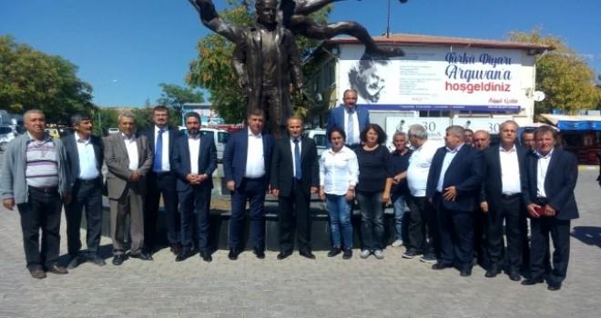 Başkan Tugay'dan Arguvan Belediyesi'ne ziyaret