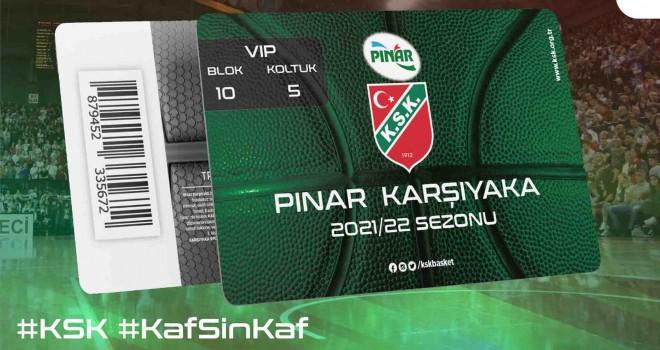 Pınar Karşıyaka'da VIP kartların satışı başladı