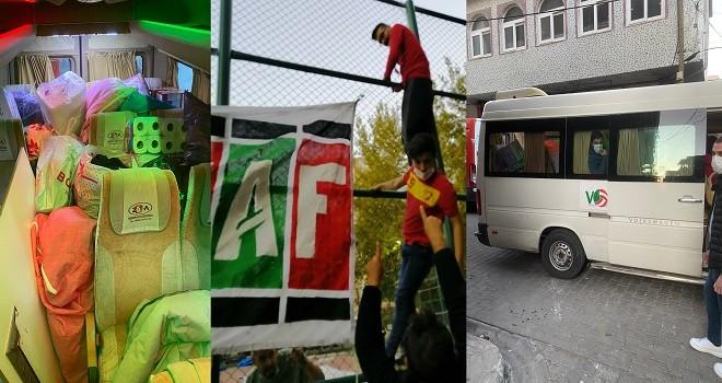Deprem için Karşıyaka Göztepe kardeşliği