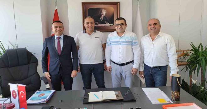 Karşıyaka Tarım ve Orman Müdürü'nden İzmir Veteriner Hekimler Odası'na ziyaret