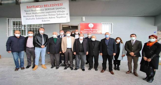 Fuat Edip Baksı Muhtarlığı yeni binasında