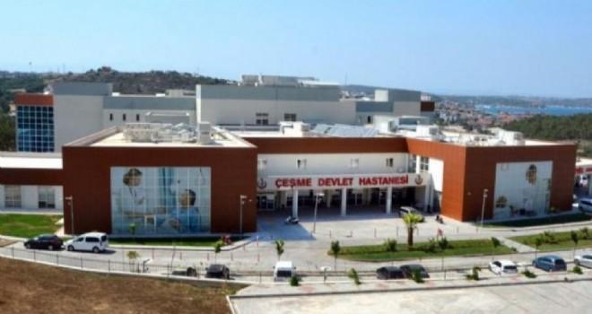 CHP'li Sertel: Çeşme'de hastane var doktor yok