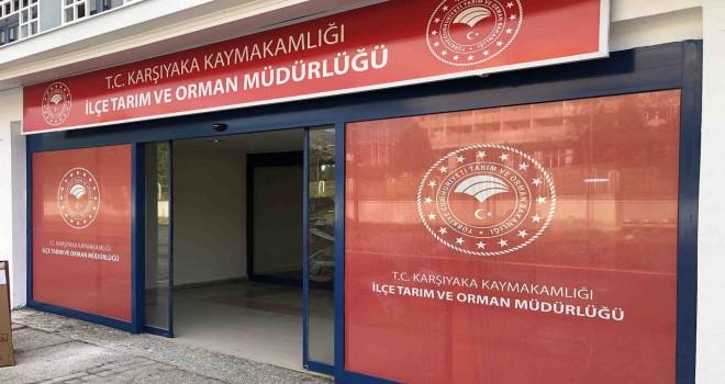 Karşıyaka İlçe Tarım ve Orman Müdürlüğü yeni binasına taşındı