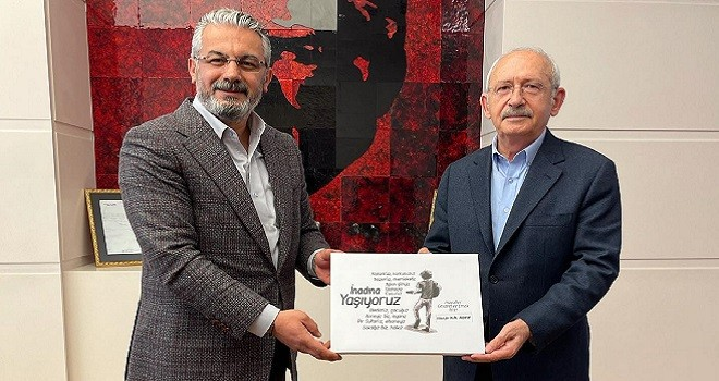 Akpınar, CHP Genel Başkanını ziyaret etti