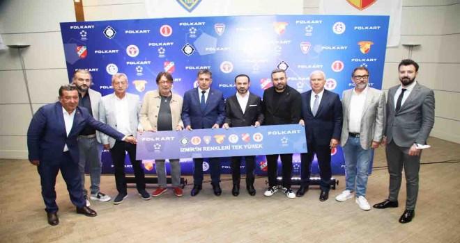Folkart 7 İzmir takımına forma sponsoru oldu