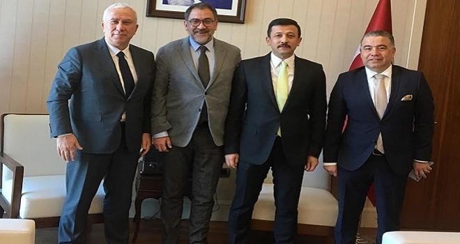 Karşıyaka Başkanı Dağ'ı ziyaret etti