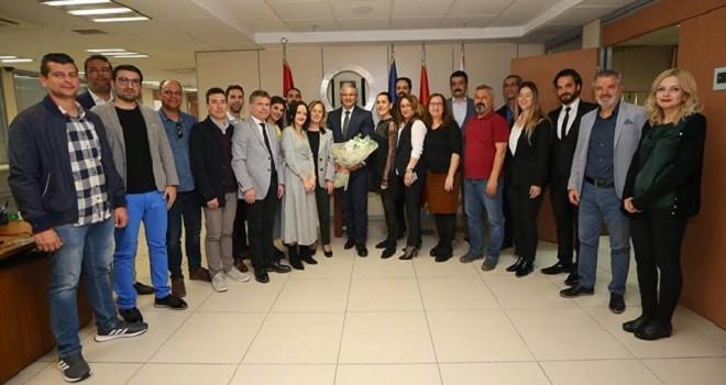 Karşıyaka Belediyesi Kültür Müdürlüğü'nden Başkan'a teşekkür…