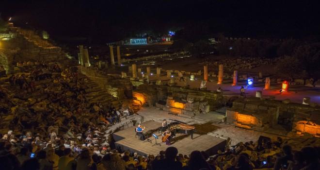 Antik kentte oda müziği gecesi
