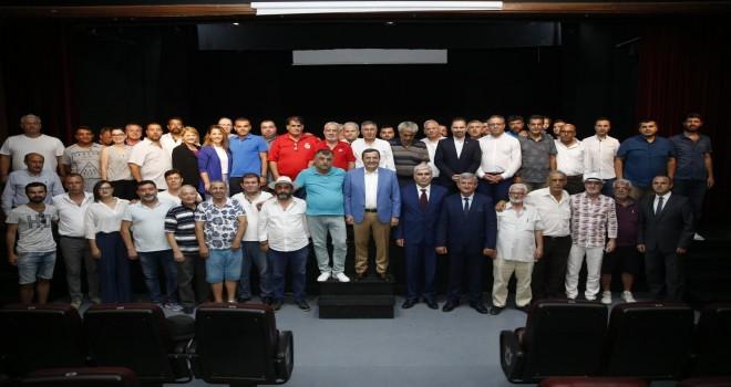 Başkan Batur'dan  amatör spora tam destek