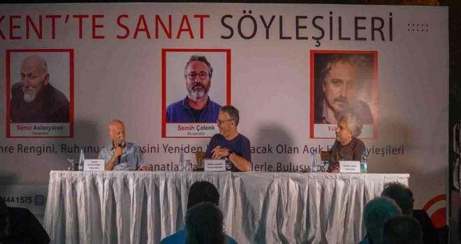 Kent'te Sanat Söyleşileri'nde yönetmenler Karşıyakalılarla buluştu