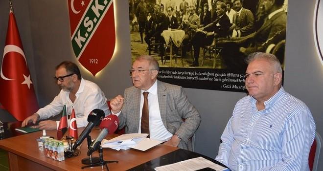 Karşıyaka'da şirketleşme için ilk resmi adım atıldı