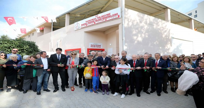Kemal Anadol Mahalle Merkezi açıldı