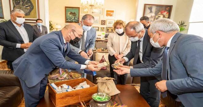 İzmir-Tarsus hattında atalık tohum takası
