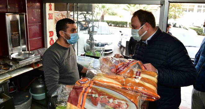 Çiğli Belediyesi'nden esnafa ramazan desteği