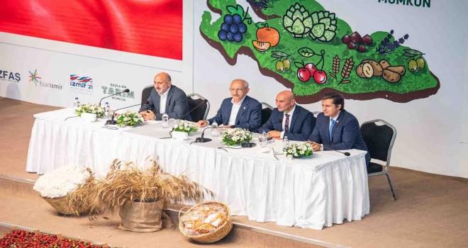 Kılıçdaroğlu: İzmir'de hiçbir çiftçi zarar etmeyecek