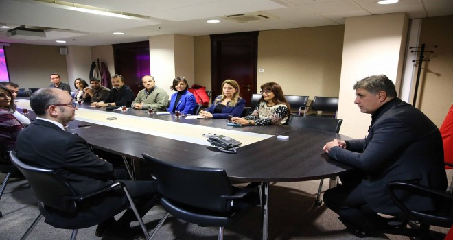 Karşıyaka Belediyesi meslek odalarıyla buluştu