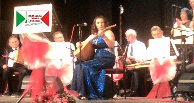 Karşıyaka Sanat Derneği Türk Halk Müziği Korosu konseri bu akşam...