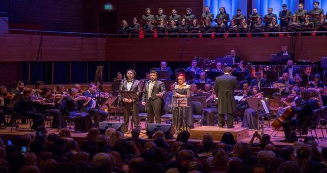Konser sezonu ''İlahiler Senfonisi'' ile kapandı