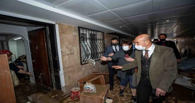 İzmir'de 948 hane ve işyeri için destek verilmesi kararlaştırıldı