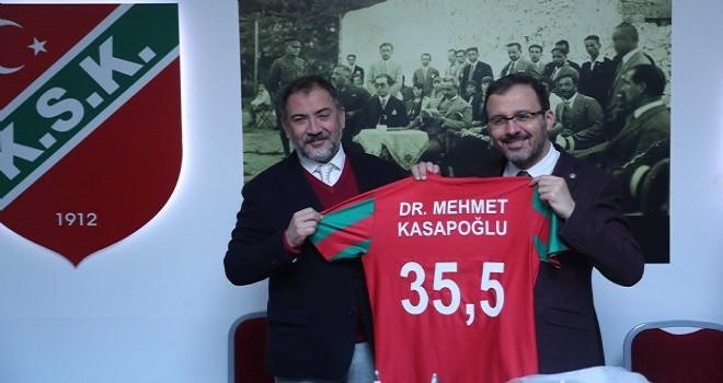 Spor Bakanı Kasapoğlu Karşıyaka'da...