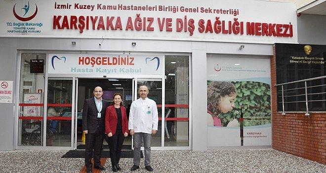 ADSM'de, Karşıyaka'nın nüfusundan fazla hastaya bakıldı