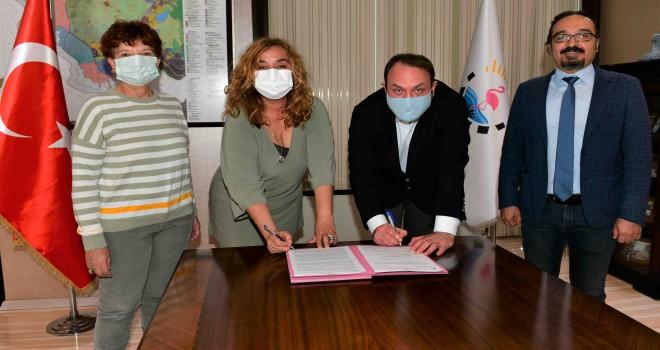 Çiğli'de ''Engelsiz Yaşam'' için protokol imzalandı