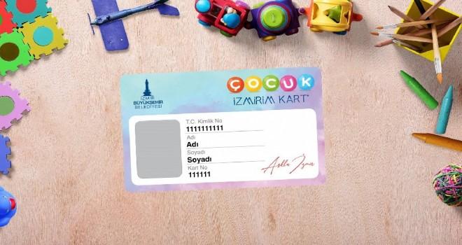 İlk Çocuk İzmirim kartlarını Başkan Soyer takdim etti