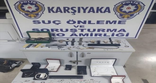 Karşıyaka'da hırsızlık yapan hizmetçi ve arkadaşları tutuklandı