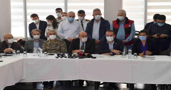 AFAD İzmir Koordinasyon Merkezi'nde değerlendirme toplantısı yapıldı