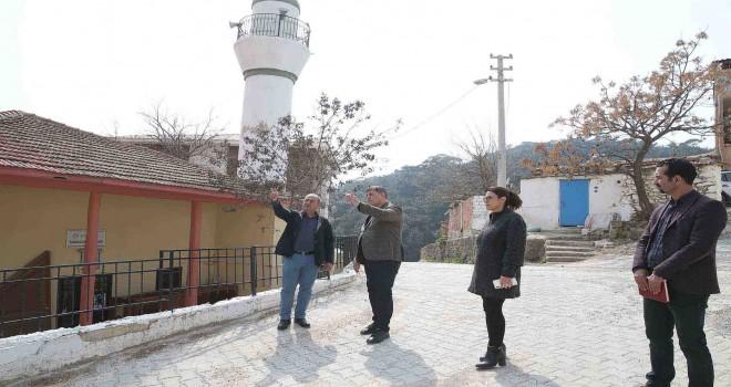 Başkan Tugay'dan Karşıyaka'nın iki köyüne Korona turu