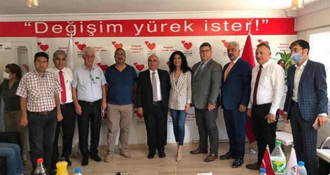 Türkiye Değişim Partisi Karşıyaka Başkanı Aydın oldu