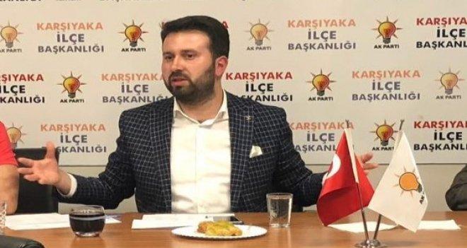 Ak Parti Karşıyaka İlçe Başkanı Çiftçioğlu'ndan Başkan Akpınar'a tepki
