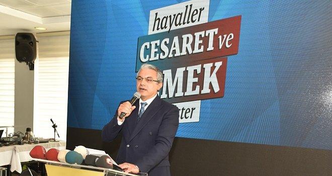 Akpınar: Büyükşehir'e aday olursam tarihi oyla kazanırım
