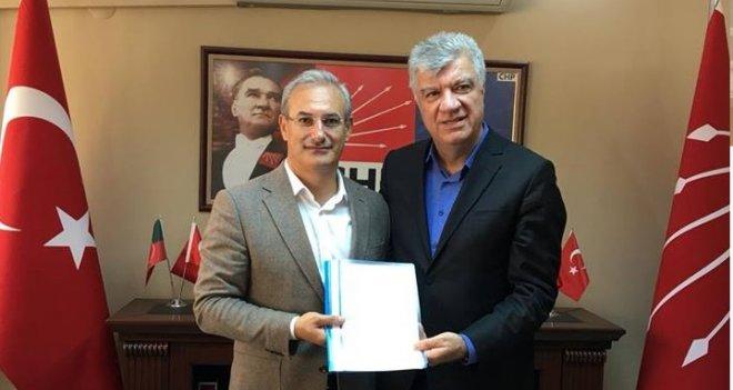 Ali Engin, Karşıyaka Belediye Başkan Aday Adaylığı başvurusunu yaptı