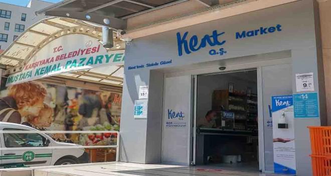 Kent Market'in ikinci şubesi Mustafa Kemal'de açıldı