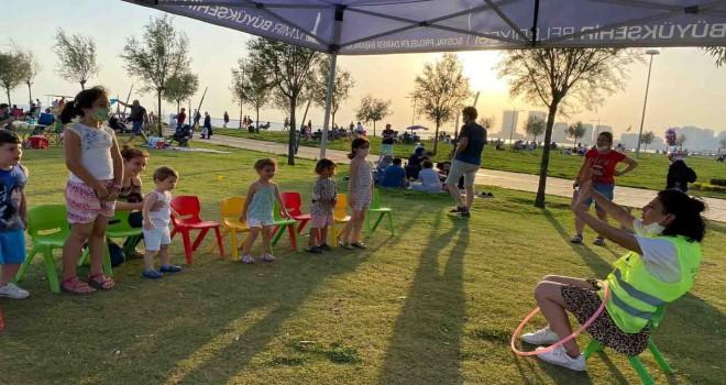 İzmir Büyükşehir'den çocuklara sokak etkinlikleri