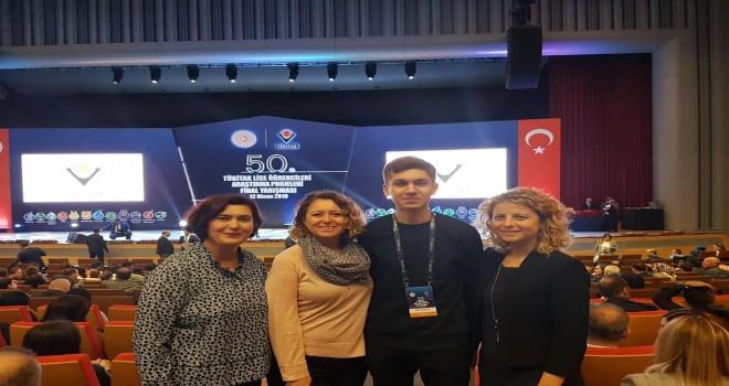 TÜBİTAK Yarışması'nda Türkiye 2.'si İzmir'den