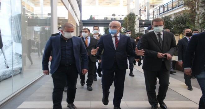 İçişleri Bakan Yardımcısı Erdil Karşıyaka'da denetimde bulundu