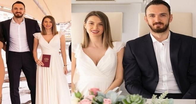 Semih Erden 5 yıllık sevgilisi ile evlendi