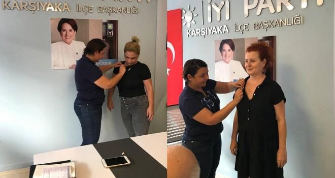 İYİ Parti Karşıyaka'ya katılımlar devam ediyor