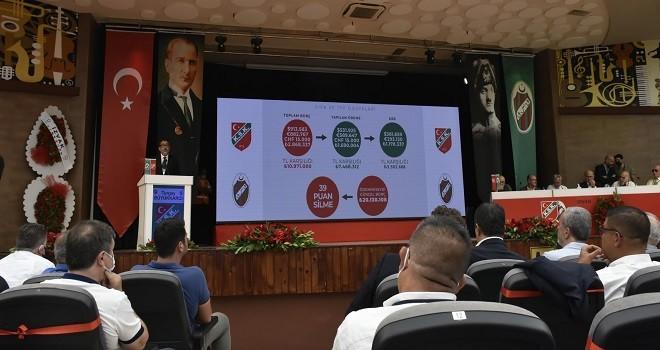 Karşıyaka Spor Kulübü'nde genel kurulun 1. günü tamamlandı