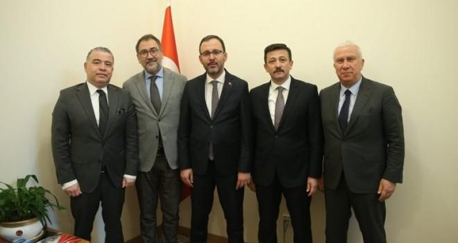 Karşıyaka altyapı tesisi projesi için Ankara'dan müjdeli haberlerle döndü