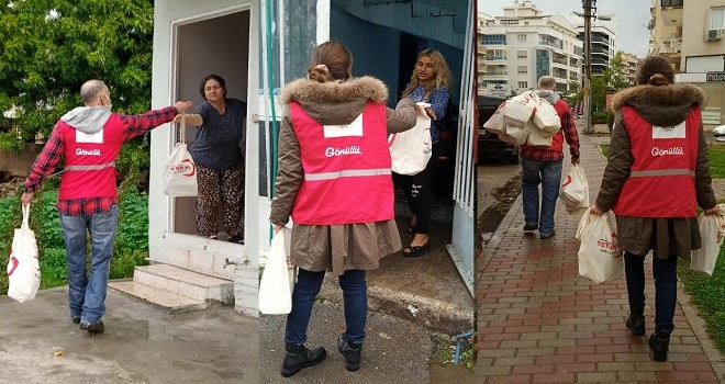Başkan Karadeniz'den, gönüllülere teşekkür