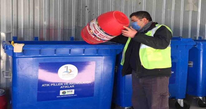 Bayraklı Belediyesi'nden geri dönüşüme 15 Bin Ton atık