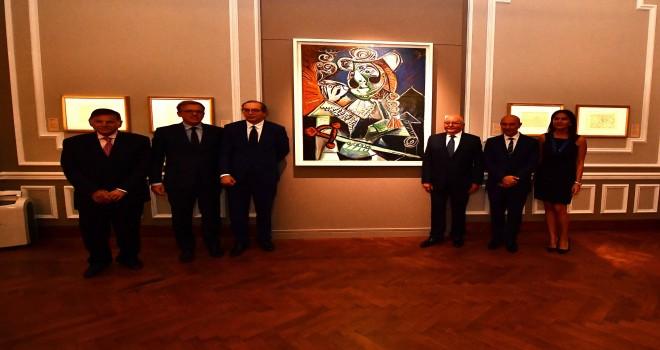 İzmir dört ay boyunca Picasso'ya ev sahipliği yapacak